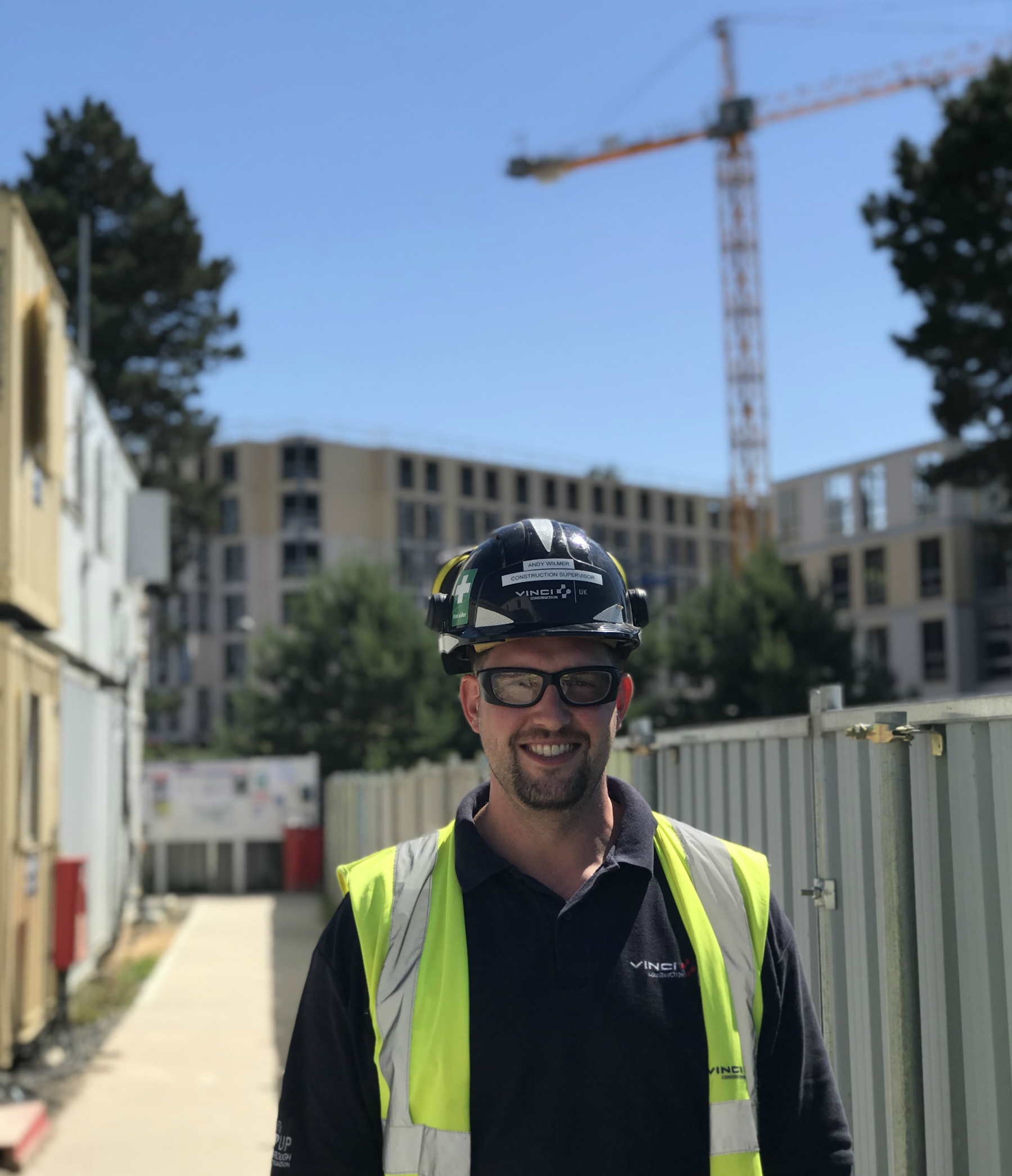 Andy Wilmer works for VINCI Construction UK